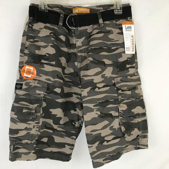 a47faecf7d Lee Bottoms   Nwt Camo Cargo Shorts Boys Sz 16r K12   Poshmark